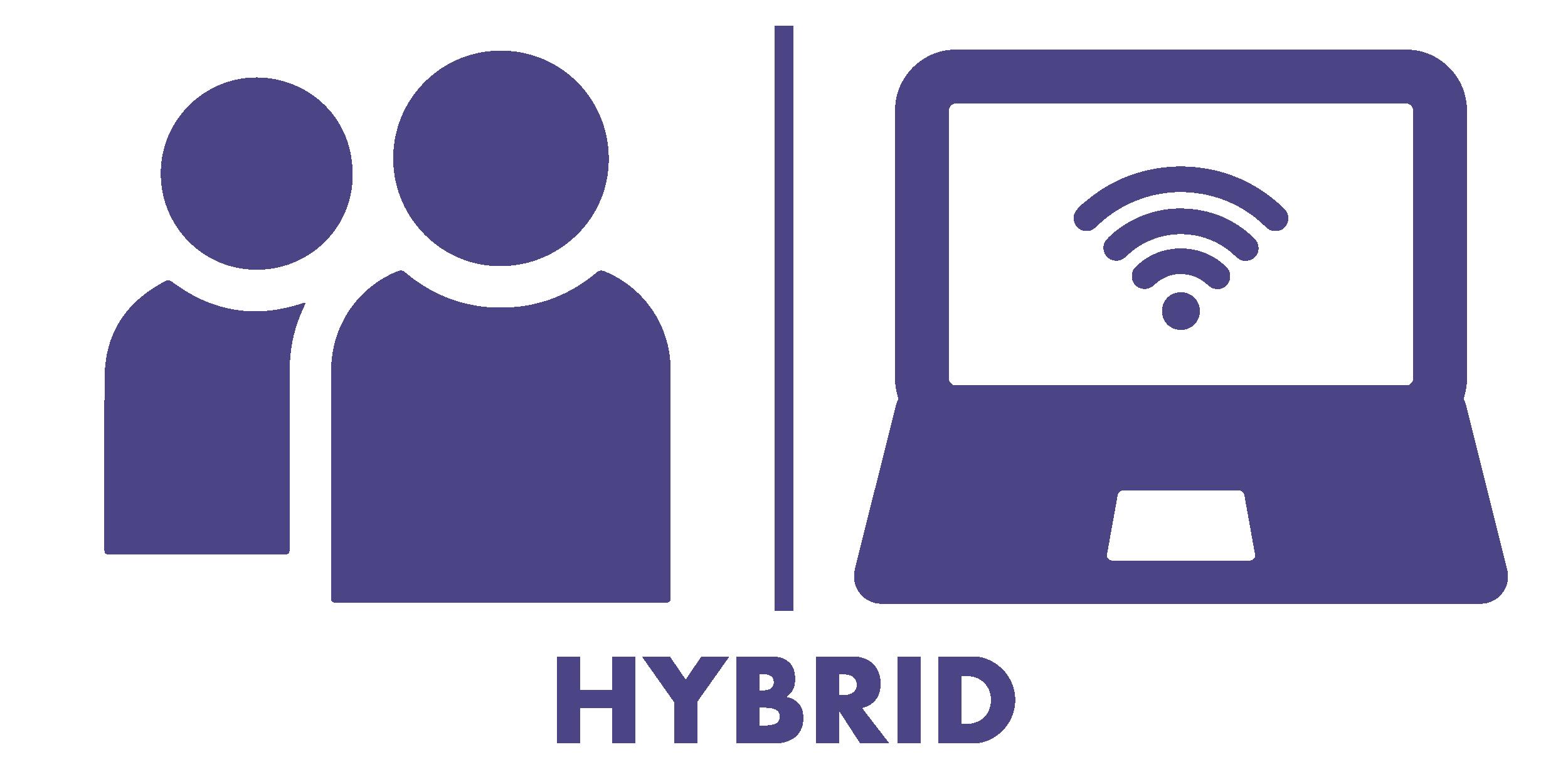 hybrid icon - transparent