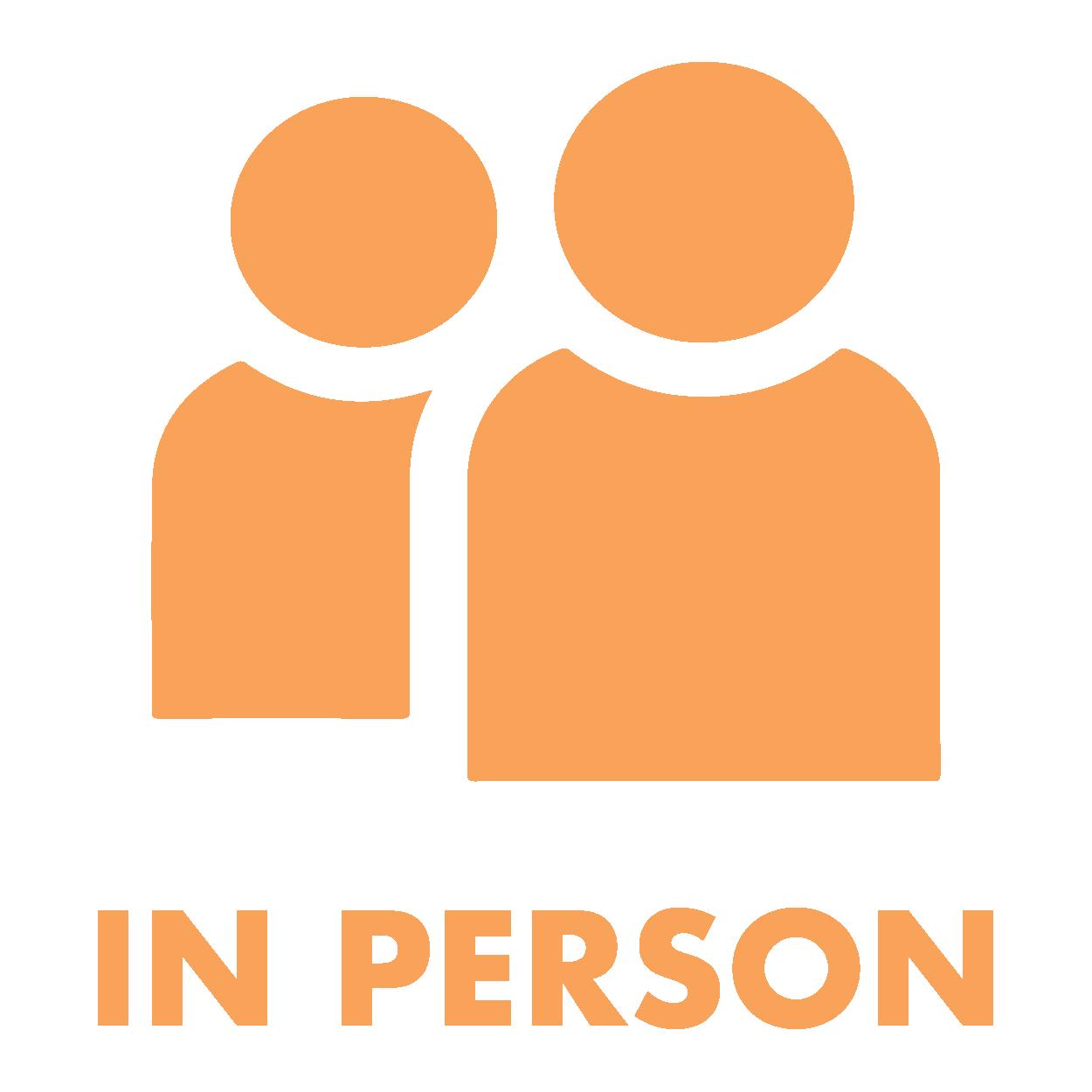 in person icon - transparent
