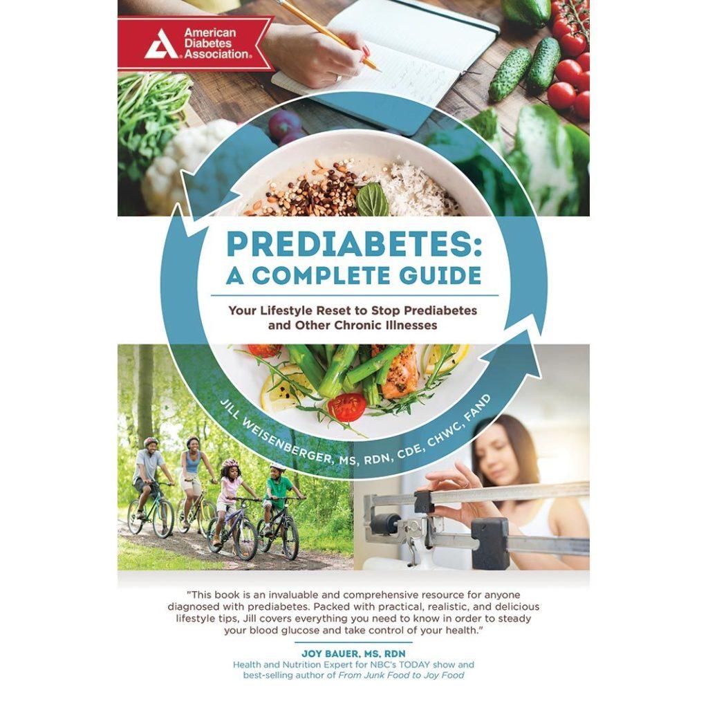 Prediabetes A Complete Guide - ADA book cover