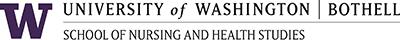 UWB School of Nursing and Health Studies logo