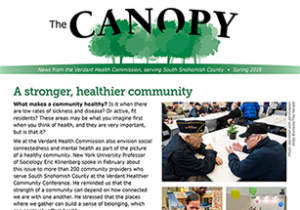Image of The Canopy newsletter cover