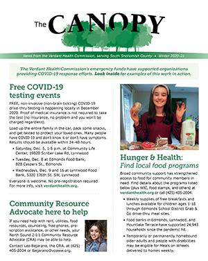 Winter 2020-21 Canopy Newsletter